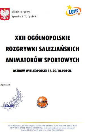 XXII Ogólnopolskie Rozgrywki Salezjańskich Animatorów Sportowych
