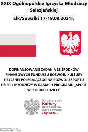 XXIX Ogólnopolskie Igrzyska Młodzieży Salezjańskiej - Ełk/Suwałki